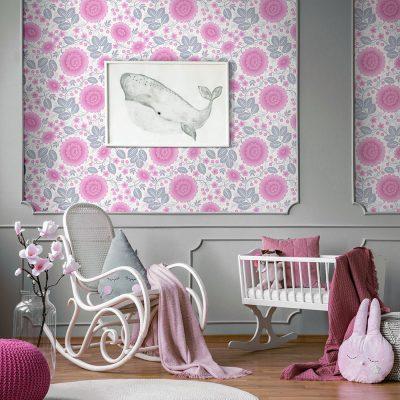 Girls Room wallpaper