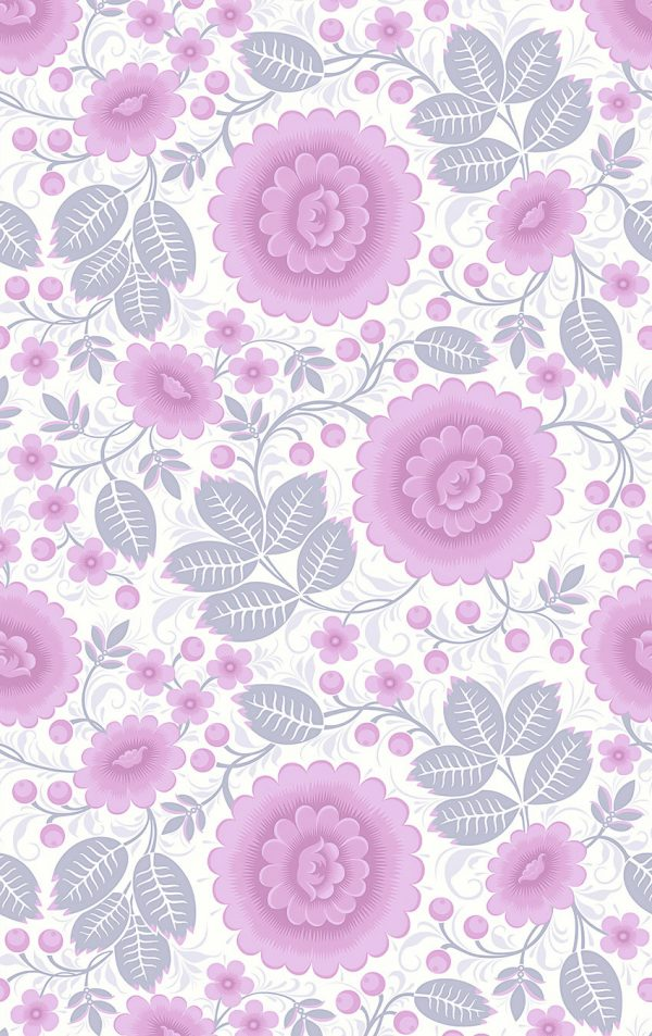 Velina Pink Peony Interior Wallpaper For Walls