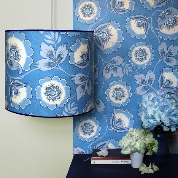Olenka Design Lampshade and Wallpaper