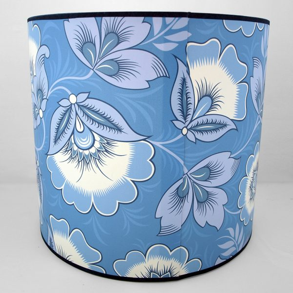 Neva Blue Lampshade Olenka Design